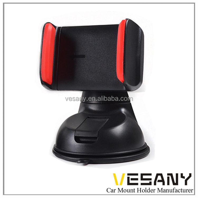 Vesany Easy carry OEM eco-friendly ABS 360 rotation universal dashboard car mount phone holder