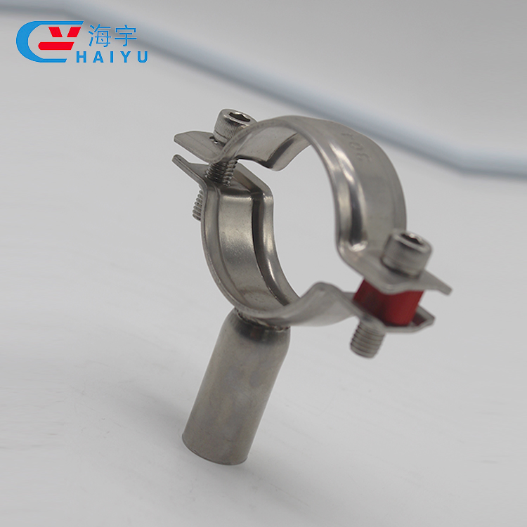 Forged Sanitary Stainless Steel Clamp Pipe Holder