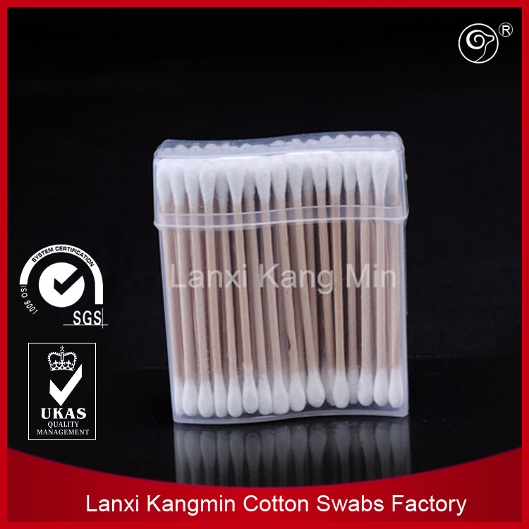 high quality wooden stick industrial medical cotton buds
