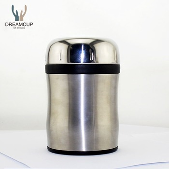 Good quality stainless steel vacuum food flask/food warmer jar/lunch box