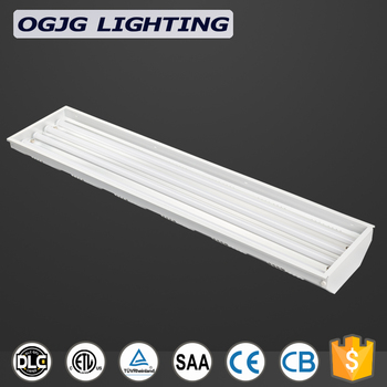5 Years Warranty Fluorescent Lighting Hanging Led High Bay Linear Fixture Industrial Pendant Light