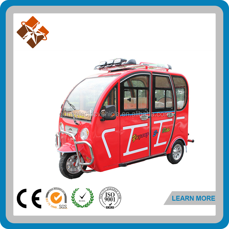 hot star brand three wheeler rim velo taxi for sale