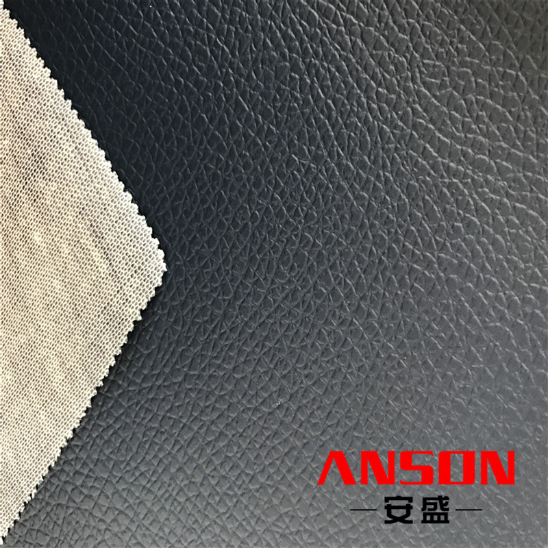 embossed pu weekend bag leather for bags pvc leather raw material