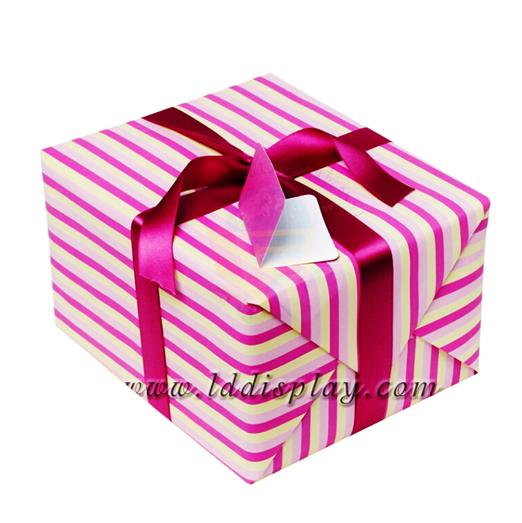 Custom Printed Tissue Jewelry Storage Perfume Candy Letter Shaped Gift Boxes Round Kraft Folding Machine Packaging Paper Box