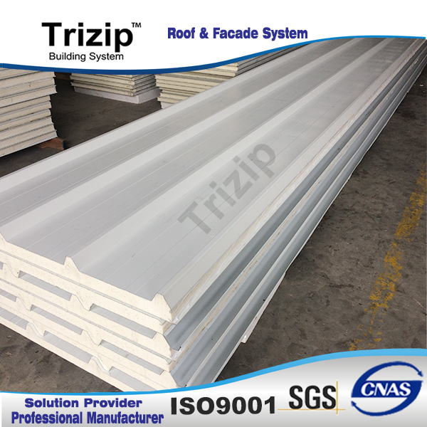 50mm fireproof insulated roof aluminium sandwich panel