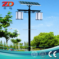 2014 beautiful design 3.5M solar garden lighting