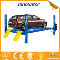 Hydraulic four post used 4 post car lift for sale IT8414