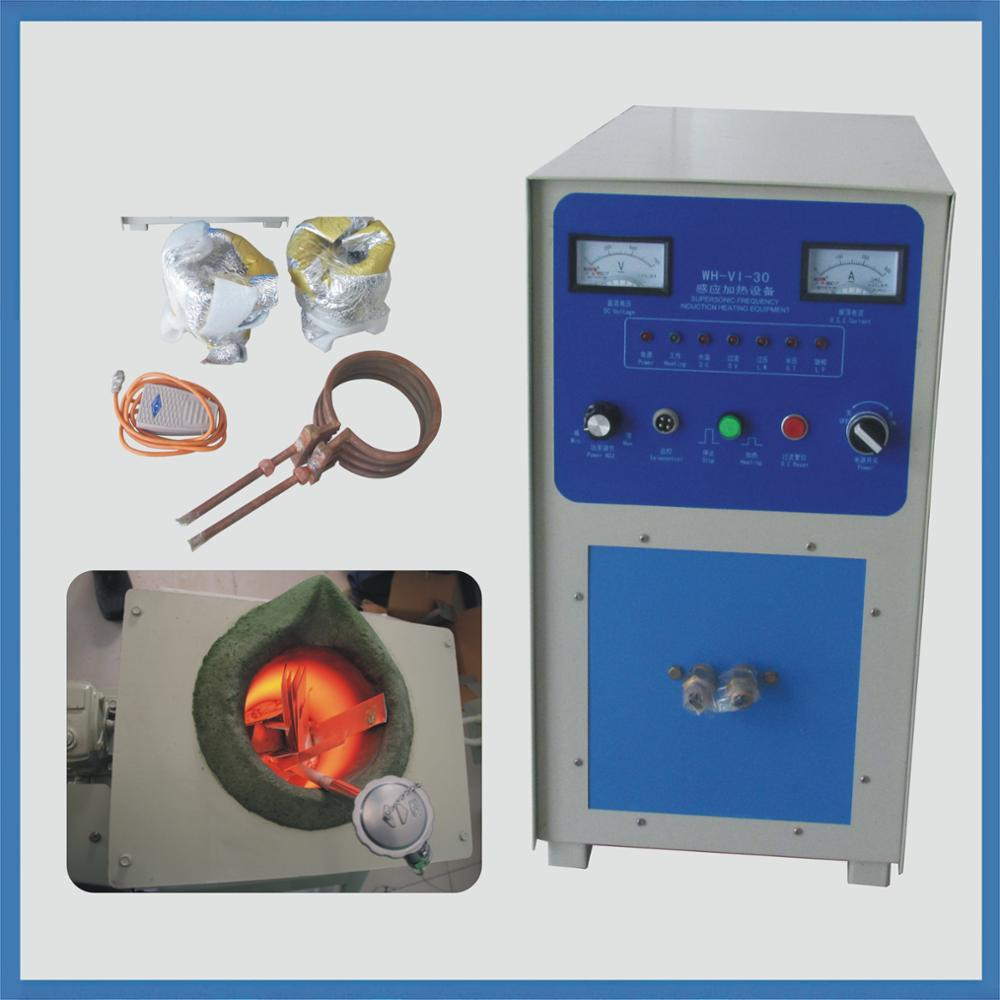portable high frequency Induction gold silver aluminum small melting furnace