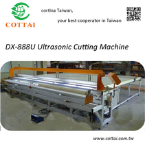 Window blind curtain Auto ultrasonic fabric table cutting machine