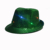 adult child 9pcs party led flashing sequins hat