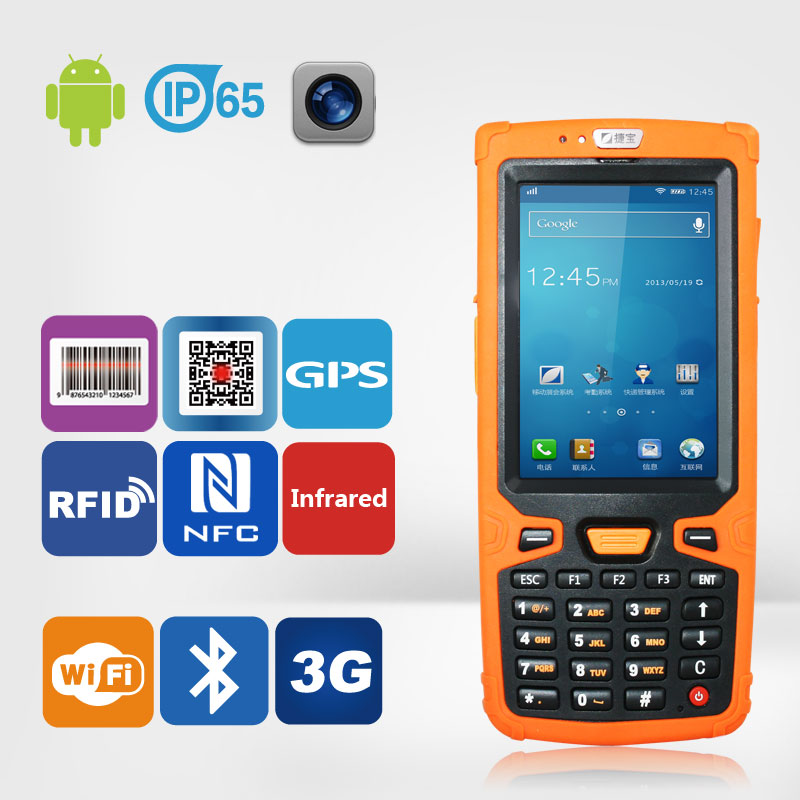 Jepower HT380A Quad Core Android PDA Phone