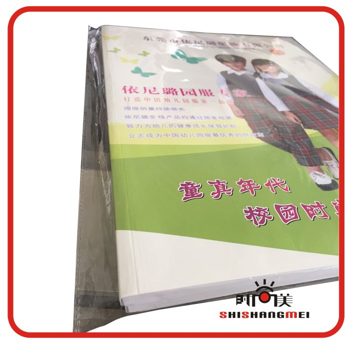 Professional custom advertise magazine softcover catalog printing A4 catalogue printing