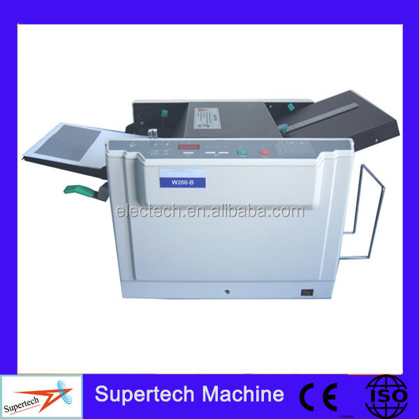 Individual Pay Stubs AD Office W200-B Envelope Pressure Sealing Machine