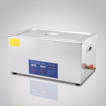 JPS-100A Digital Stainless Ultrasonic Cleaner Ultra Sonic Bath Cleaning Tank <strong>Timer</strong> Heater[30L]
