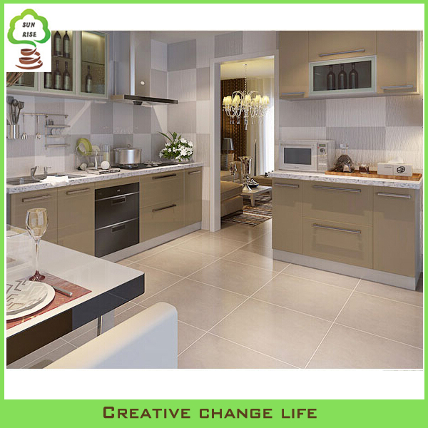 2015 ghana style modern mdf kitchen cabinets factory for Kitchen cabinets 700mm