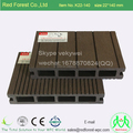 Hollow and solid formed plastic wood composite Wpc decking board with good price