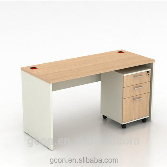 Melamine company used artificial marble office table