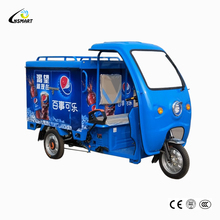 Van truck tricycle and pedal Cargo tricycle for sale