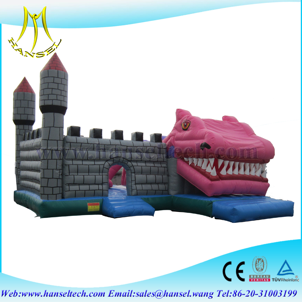 Hansel inflatable soccer bounce house, air jumping castle, inflatable bouncer combo