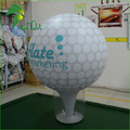 Standing Commercial Display Giant Sports Golf Inflatable Ground Balloon