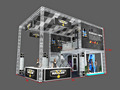 double deck truss exhibition stand,double deck exhibition booth from Shanghai