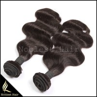Hot Selling noblelest Hair Products peruvian Virgin Hair body Wave peruvian Human Hair Weaves for black women
