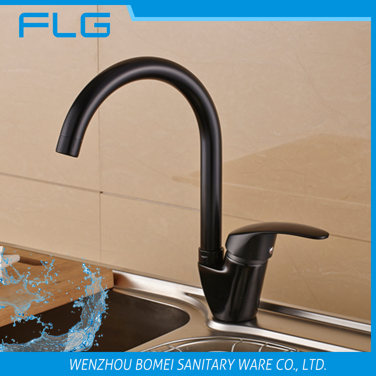 2017 cheap blackened water tap sink kitchen faucet