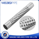 perforated stainless steel pipe manufacturer/perforated stainless steel tube manufactor/stainless perforated pipe supplier