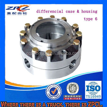 Durable Truck Differential Case and Differential Housing Assembly ( For Mercedes, Benz, Steyr, Volvo, DAF, Howo, Aowei, Man etc)