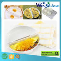 Microwave Omelet Mold Poach Cooking Cooker Omelet Wave Pan Maker Egg Poacher Kitchen Gadget