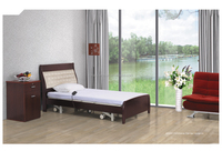 CY-B213 Manual home care medical bed/wood folding bed/manual home care bed
