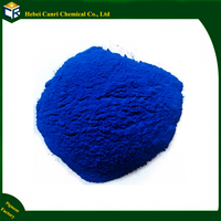 Blue irolowed concrete paint iron oxide powder pigment