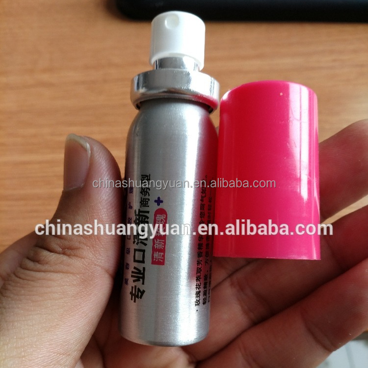aerosol aluminium can for oral spray