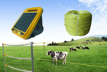 12KV solar panel sheep farming fence energizer for livestock electric fence equipment