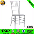 Factory Price Metal Wedding white tiffany Chair