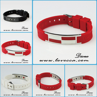 2015 Best Hot Sale Powerful silicone energy bracelet