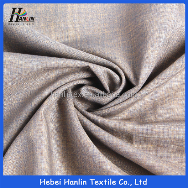 Hot Sell Spandex men Suiting fabric supplier Men office wear stripe best suit fabric woven tr fabric for trouser pants