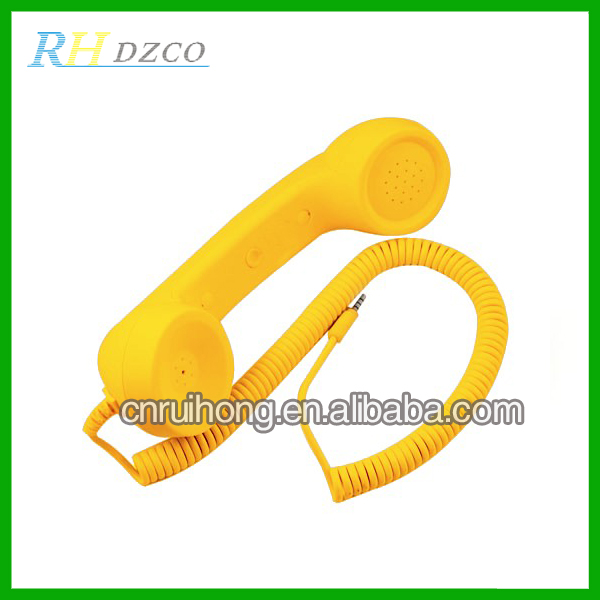 Professional Multicolor Retro Telephone Handset,Mobile Handset