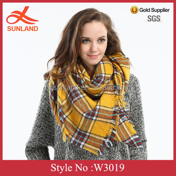 W3019 New christmas scarves square scarf cashmere scarf