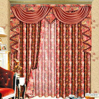 China simple curtains for living room linen shower curtain