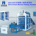 Concrete block forming machine.Automatic block forming machine