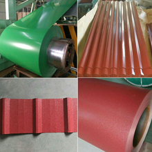 25% off Thickness 0.23-0.8mm High-strength corrugated ppgi sheets for roofing materials