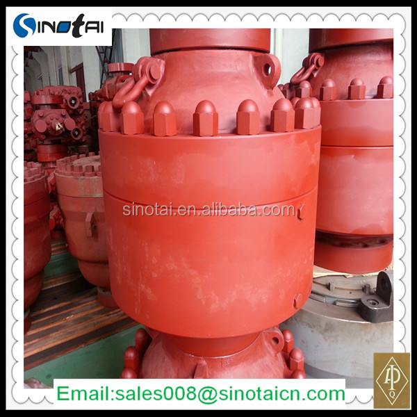 Cameron/shaffer type oil well API 16A Annular BOP(blowout preventer)