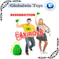 Wholesale-2014 Brasil World Cup fans horn Caxirola new official football games cheering props ,brazil soccer 2014 caxirola
