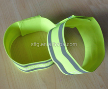fashion best-selling reflective elastic strip,wristband,armband