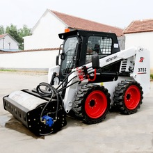 skid steer loader attachment ,mini vibratory roller ,roller attachment for skid steer loader