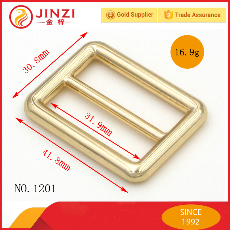 2015 fashion style handbag hardware square belt buckles for bags