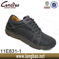 Newest Shoes Leather Casual Men 2013 With Fashion Design, High Quality Latest Men Leather Shoes,Men Casual Flat Leather Shoe