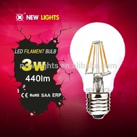 Best seller 3 watt led bulb dimmable filament led bulb smart led bulb