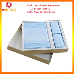 cosmetic gift set packaging box with foam insert